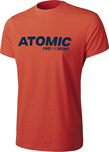 Atomic - Maglietta da uomo M ALPS Pepper, Uomo, T-Shirt M ALPS PEPPER, Blutorange, S