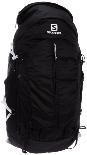 Salomon Synapse Flow 30 Backpack, Black/White, Large