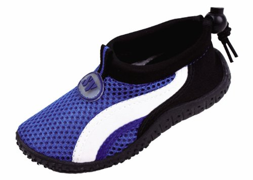 Sunville Infants Aqua Shoes For Water Sandals Aqua Socks,Blue,5 front-65744
