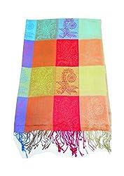 Maira Women's stoles shawls & Pashmina Multicolour