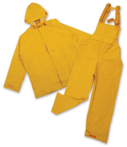 Stansport Commercial Rainsuit, Yellow, X-Large