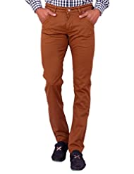 Dare Stunning Brown Slim Fit Chino For Men | DAIR3126