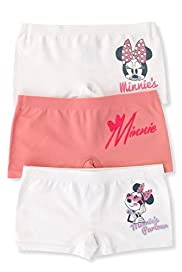 3 Pack Minnie Mouse Seamfree Shorts