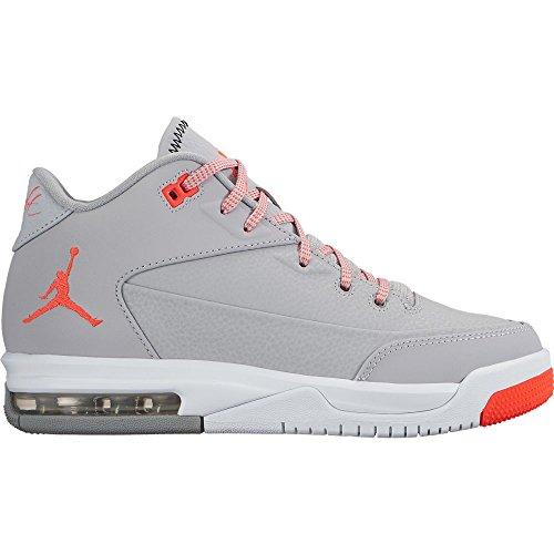 Nike Jordan flight origin 3 bg - Scarpe da basket, Uomo, colore Grigio (wolf grey/infrared 23-white), taglia 40