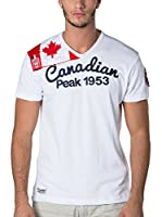 CANADIAN PEAK Camiseta Manga Corta Jailor (Blanco)