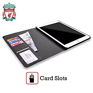 Official Liverpool Football Club Liver Bird Home Shirt Kit 2016/17 Leather Book Wallet Case Cover For Apple iPad Pro 12.9 by Liverpool Football Club