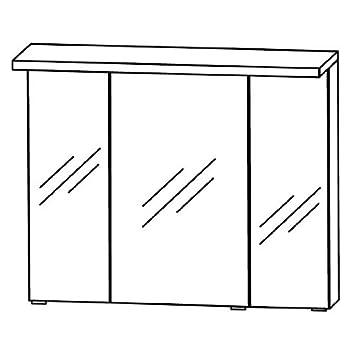 In Kera Trends 2D Mirror Cabinet (S2A439046) Bathroom, 90cm
