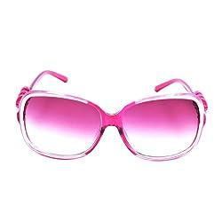 Riyan Square Pink Sunglasses (Riyan-34)