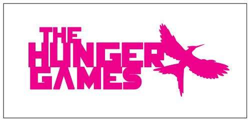 Hunger Games Sticker Decal Pink