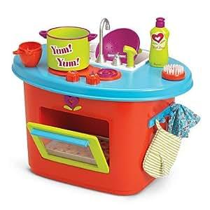 American girl bitty twins kitchen set toys for Kitchen set amazon