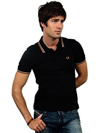 Fred Perry - Polo - M1200 - noirecruL