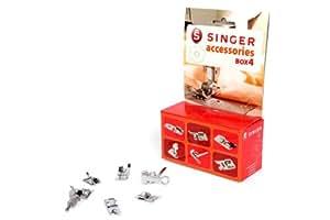 Singer Kit Accessoires N°4 - Kit Accessoire de Pieds de Biche Compatibles