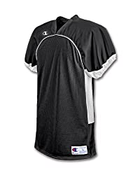 Champion Stadium Men's Football Game Jersey 48050-MEDIUM -Black/White