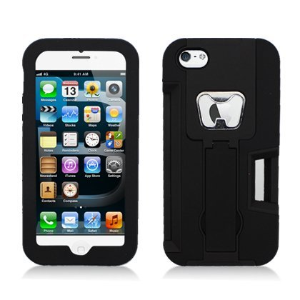 For Apple iPhone 5 Armor 4 In1 , W/Card, Bottle