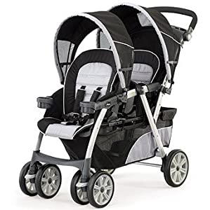 Chicco Cortina Together Double Stroller - Romantic
