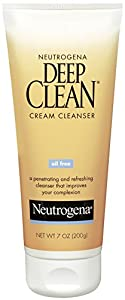 Neutrogena Oil-Free Deep Clean Cream Cleanser, 7 Ounce