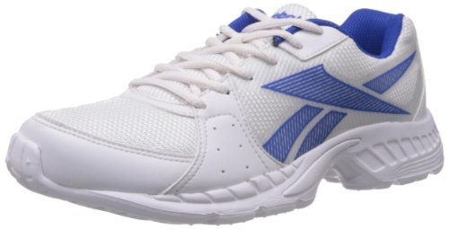 Reebok Men's Top Speed Lp White and Blue Mesh Running Shoes  - 9 UK  available at amazon for Rs.1671