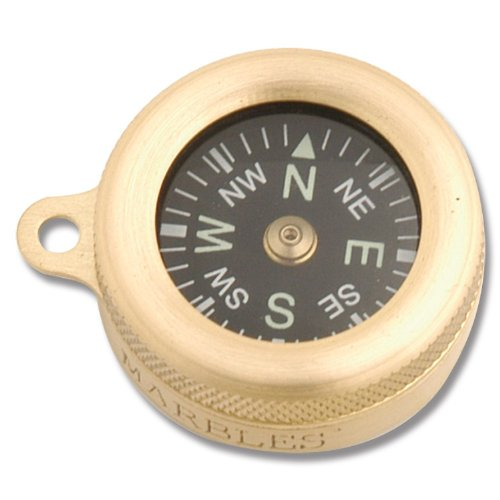 Marbles Pocket Compass, 1in. Diameter