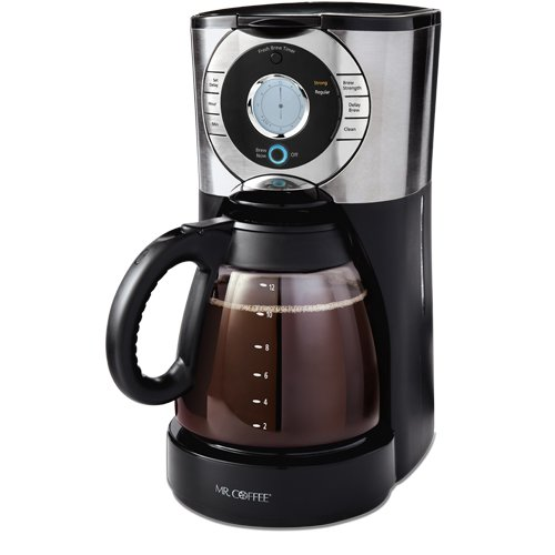Mr. Coffee EJX33 12-Cup Programmable Coffeemaker,