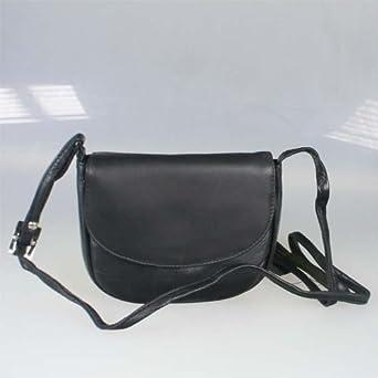 kleine damen leder handtasche umh ngetasche 17 x 14 cm. Black Bedroom Furniture Sets. Home Design Ideas