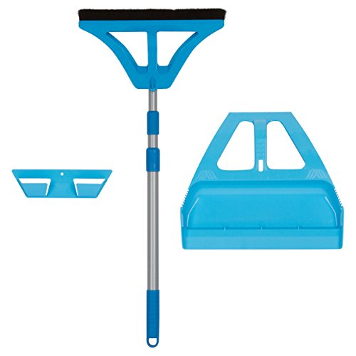 Wispsystem Best 90 Degree Angle One Handed Broom With