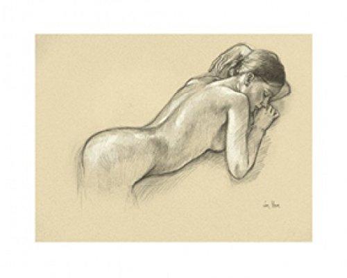 1art1 44874 Frauen - Die Nackte Mit Dem Armreif, Van Hove Poster Kunstdruck 30 x 24 cm