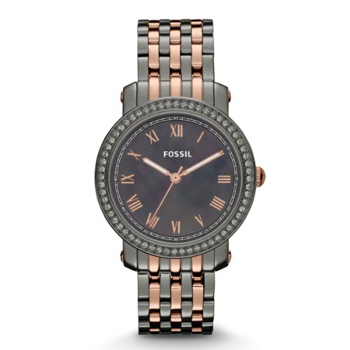 Fossil Women's Quartz Watch Emma ES3115 with Metal Strap