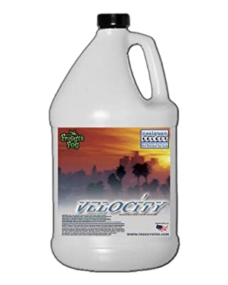 1 Gal - Velocity - Designer Select Fast Dissipating Fog Machine Fluid by Froggys Fog