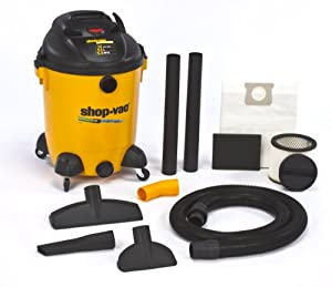 Shop-Vac 9689400 5.5-Peak HP Ultra Pro Wet or Dry Vacuum with Built-In Pump, 14-Gallon