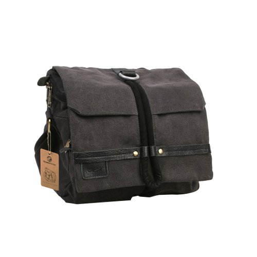 Koolertron Waterproof Canvas Shoulder Camera Bag Cross Body Messenger Shoulder Bag Portable DSLR Video Carry Case For for Sony Canon Nikon Olympus DSLR ipad 2 ipad 3 mini ipad Google NEXUS 10 SamSung Galaxy Note 10.1 N8000 Microsoft Surface 10 inch Tablet Picture