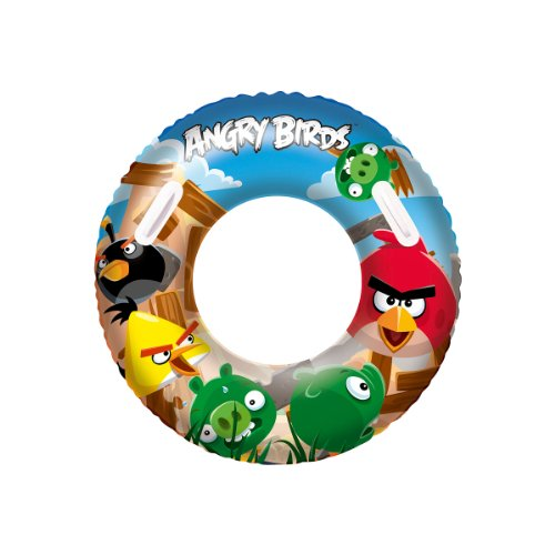 "Bestway 36"" Angry Birds Swim Ring - 1"