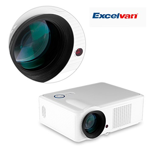 Price compare excelvan 2000 lumens gaming projector video for Best pocket projector for business