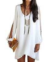SUNNOW® Nouvelle Sexy Femme V-Col bretelle à-line Casual Skirt Mini Robe