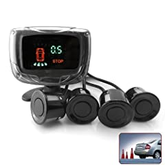 Mini VFD Display Backup Radar Car Parking Sensor P6448b by China OEM