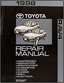 1998 toyota rav4 repair manual free download