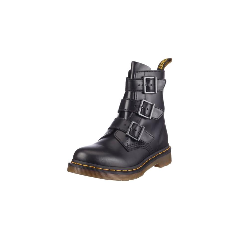 dr martens 13665001 blake buckle boot damen stiefel. Black Bedroom Furniture Sets. Home Design Ideas