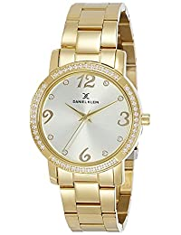 Daniel Klein Analog Silver Dial Women's Watch - DK10800-3