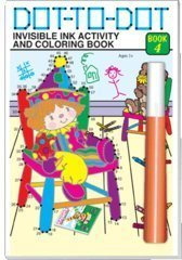 Invisible Ink Activity ~ DOT TO DOT ~ Book 4