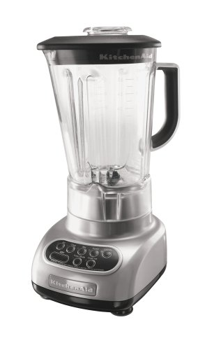 KitchenAid RKSB560MC 5-Speed Blender, Metallic Chrome (Certified Refurbished) (Kitchen Aid 56 Oz Pitcher compare prices)