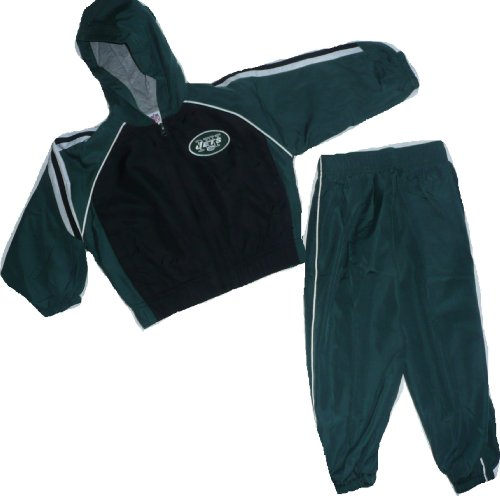 New York Jets Wind Jacket and Pant Set 3T Toddler Baby at Amazon.com