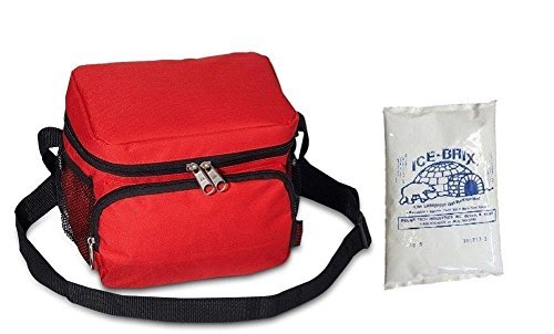 everest-cooler-lunch-bag-red-ice-pack