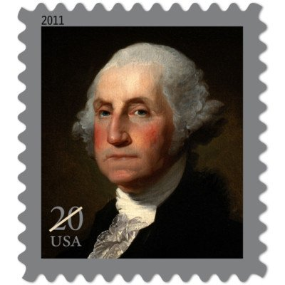 George Washington Roll 100 x 20 cent US Postage Stamps