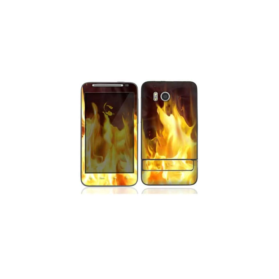 Furious Fire Protective Skin Cover Decal Sticker for HTC Thunderbolt