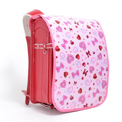 Exciting school bag covers heart and Ribbon shimmering beauty (Pink) Japan-N4118400