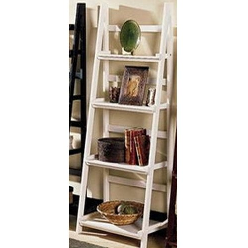 LADDER - Leaning Storage / Display Shelves - White Black Friday & Cyber Monday 2014
