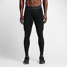 Nike Men\'s Pro Hyperwarm Dri-FIT Max Compression Tights (Small)