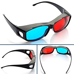 REAL 3D Red Blue/cyan anaglyph 3D Glasses NV1