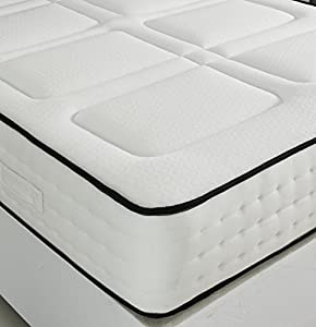 Luxury Memory Foam 1500 Pocket Sprung Mattress