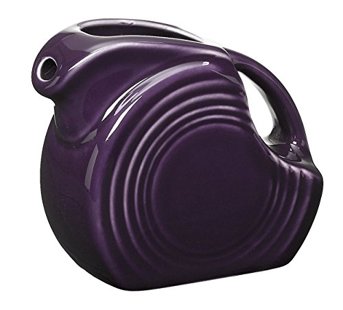 Fiesta 5-Ounce Miniature Disk Pitcher, Plum (Plum Butter Dish compare prices)