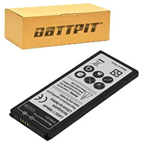 Battpit™ New Cell/Smart Phone Battery Replacement for BlackBerry STL100-4 (1800 mAh)